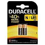 Duracell MN9100N Pila alcalina para cámara, calculadora o buscapersonas 1,5 V Ref 81223600 [Paquete de 2]