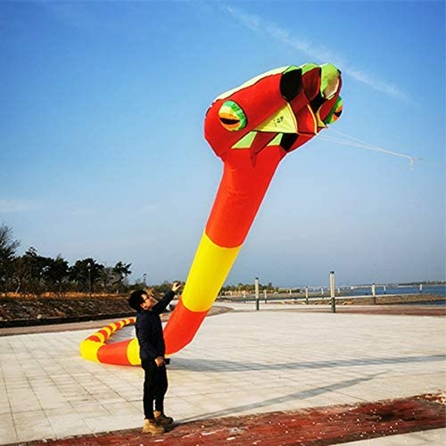 TiffyDance 2165 inch Selling rankings 3D Soft Inflatable Kite Animal Large Max 55% OFF Snake