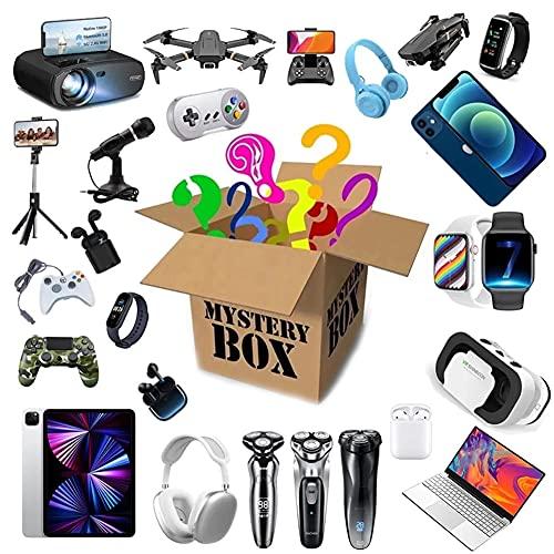 YYLI Mystery Box Electronic, Random Überraschungspaket Elektronik Ausgestattet Mit Verschiedenen Elektronischen Produkten, Absolutes Preis-Leistungs-Verhältnis Lucky Box, Alles Ist Möglich