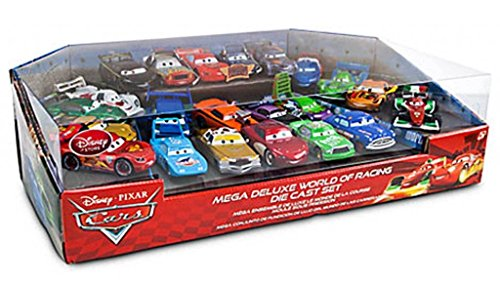 Disney / Pixar CARS 2 Movie Exclusive 20 Piece Die Cast Mega Set, 1:48 scale, Includes Carla Veloso, Lewis Hamilton, Tomber Rip Clutchgoneski by Disney