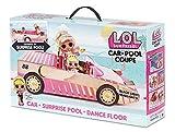 L.O.L. Surprise! Coupe Automóvil-Piscina con Muñeca Exclusiva, Piscina Sorpresa, Pista de Baile y Más