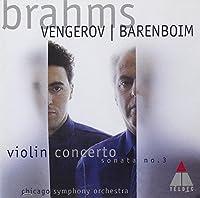 Brahms: Violin Concerto, Op. 77 / Violin Sonata No. 3, Op. 108 (1999-01-26)