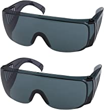 MERIGLARE 2 Peças Leves à Prova de Vento E óculos de Proteção de Olhos com Ferramentas Cinza