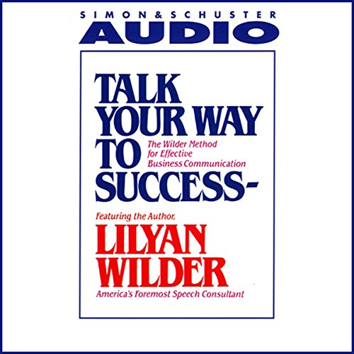 Talk Your Way to Success audiobook cover art