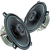 Ampire Lautsprecher 130mm für Audi A4 (B6) Cabrio (00-04) Koax Seiten...