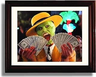 Framed Jim Carrey Autograph Replica Print - The Mask