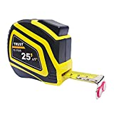 Tape Measure with Magnetic Hook, Heavy Duty Nylon Bonded Blade and Auto Lock, 25 Feet...