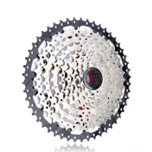 Cassette VTT 8 9 10 11 12 Vitesses 32/36/40/42/46/50 / 52T pignon de Roue Libre de vélo de Montagne pour Shimano SRAM SUNRACE 9S 11-50T