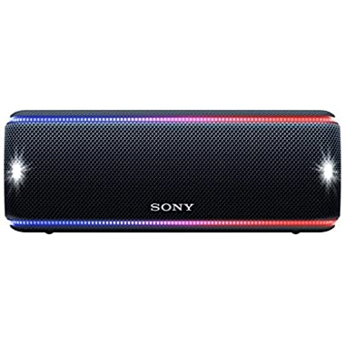 Sony SRS-XB31 Portable Wireless Bluetooth Speaker, Black (SRSXB31/B)