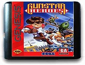 The Crowd Tradensen Gunstar Heroes Carte de Jeu 16 Bits Sega MD pour Genesis NTSC Card Only