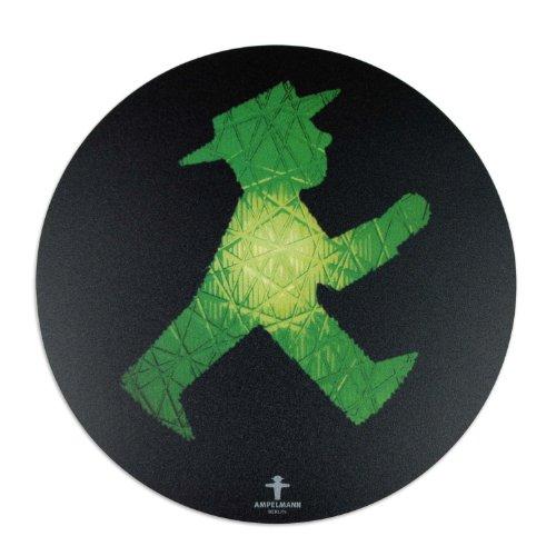 Preisvergleich Produktbild AMPELMANN 101100010 - Mousepad Rollfeld Geher 21 cm,  schwarz