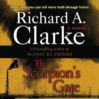 The Scorpion's Gate audiobook cover art