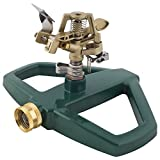 Melnor 3900H Impact Lawn Sprinkler, Basic, Metal Base