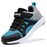 Boys Shoes Slip On Shoes for Boys Easy to Put On/Off Boys Sneakers No Tie Lace Kids Shoes Boys Non Slip Kids Sneakers Lightweight Boys' Tennis Athletic Running Shoes