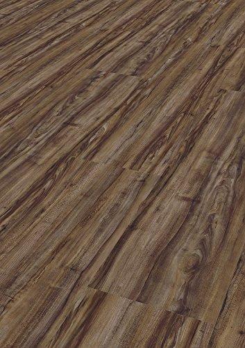 Bodentrend Vinyl Galant zum Klicken 7 mm Stärke, 0,55 mm Nutzschicht- 1 Paket (1,74 m²) (Nuez)