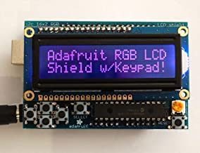 RGB LCD Shield Kit with 16x2 Character Negative Display-Uses Only 2 Pins