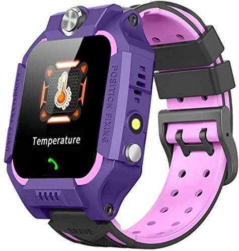 Reloj inteligente con temperatura para niños, reloj de teléfono a Brasil, amantes de enfermera, reloj inteligente con termómetro fino, color verde