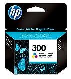 HP 300 Tri-color Ink Cartridge Cian, Amarillo cartucho de tinta - Cartucho de tinta para impresoras (Cian, Magenta, Amarillo, HP Deskjet D2500, HP Deskjet D2530, HP DeskJet F4200, Estándar, Inyección de tinta, 20 - 80%, -40 - 60 °C)