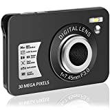 Digital Camera HD 1080P Vlogging Camera 30 MP Mini Camera 2.7 Inch LCD Screen Camera with 8X Digital Zoom Compact Cameras for Adult, Kids, Beginners
