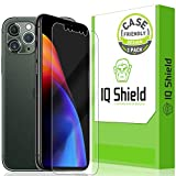 IQ Shield Screen Protector Compatible with Apple iPhone 11 Pro Max (6.5 inch)(2-Pack)(Case Friendly + Camera Lens) Anti-Bubble Clear Film