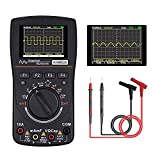 2.4 Inches Oscilloscope Multimeter,Handheld Oscilloscope Color Screen Intelligent Graphical 1MHz Bandwidth, 2.5Msps Sampling Rate, DC/AC Voltage/Current Test