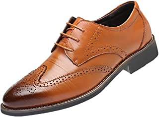 cfea473cf Zapatillas de Hombre de BaZhaHei, Zapatillas Oxford de cuero de primera  calidad para hombres Oxfords