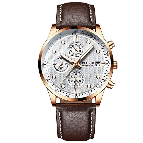 JIAJBG Clásico Reloj de Cuarzo Resistente Al Agua Relojes Luminosos Digital con Deportes Fecha de la Moda Del Reloj de Aleación de Relojes Electrónicos para Deportes de Los Hombres,