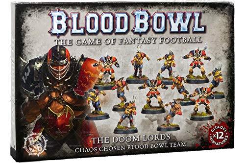 Unbekannt Games Workshop Blood Bowl Doom Lords Team (200-47) Chaos Chosen Warhammer