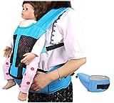 KSWX Portabebés Taburete de Cintura para bebé con Correa Transpirable...