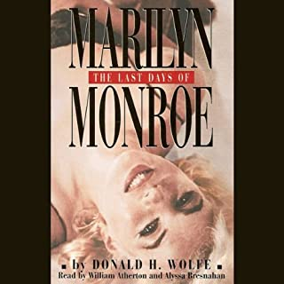 The Last Days of Marilyn Monroe audiobook cover art