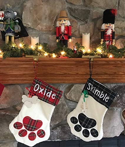 Personalised Christmas Stocking For Your Family Favourite Pet Cat Or Dog ❤️