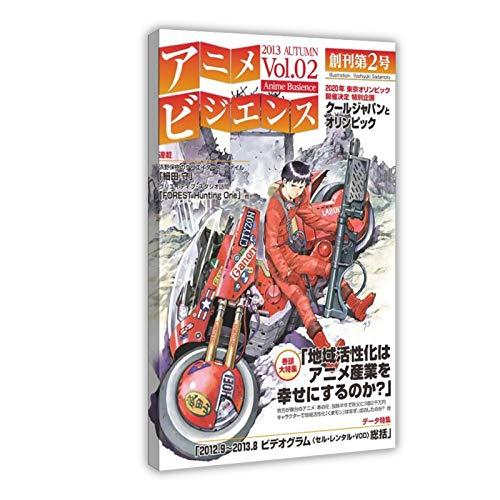 Póster de anime Akira 37 lienzo para decoración de pared, impresión de...