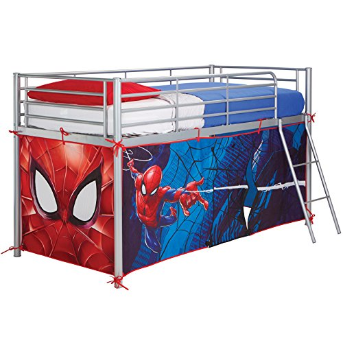 Spider Man Mid-Sleeper Bettzelt, 80 x 90 x 190 cm