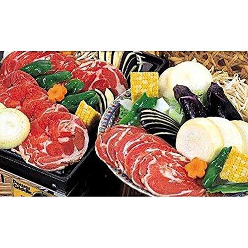 網走水産 285「ラムスライス1kg(特製たれ付)」ジンギスカン -クール冷凍-