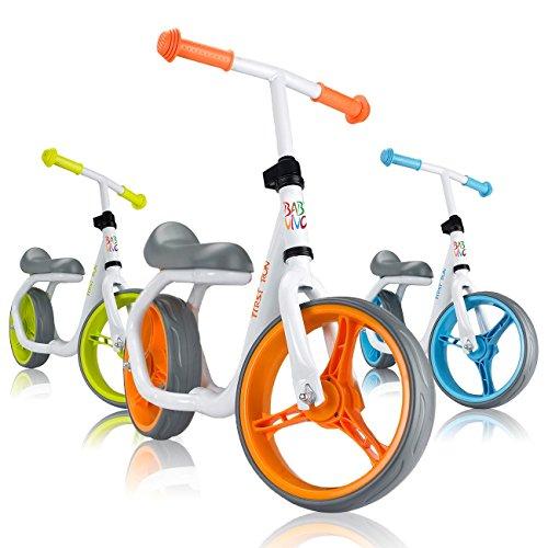 Baby Vivo Bicicleta de Equilibrio Bicicleta sin Pedales Niños 12' Sillín...
