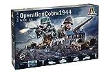 Italeri 6116S Operation Cobra 1944-Maqueta (Escala 1:72), Color Plateado