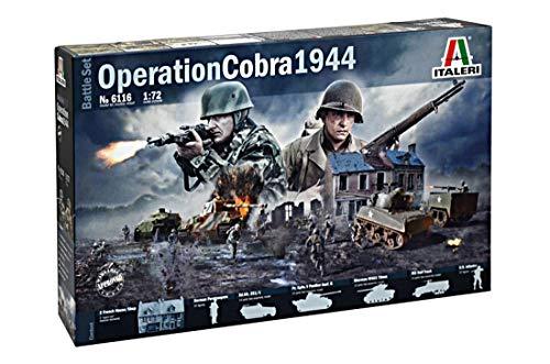 Italeri 6116 - Operation Cobra 1944 ( Battlesets) Model Kit  Scala 1:72