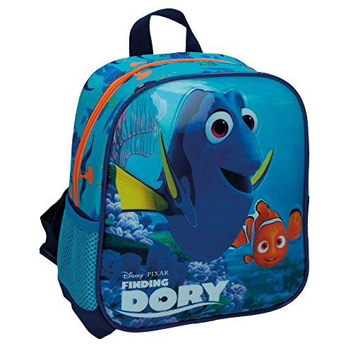 Disney Findet 2662051 Dorie Kindergartenrucksack, 5.75 Liter, Blau