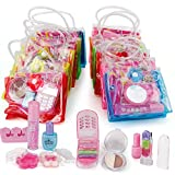 ✅ VALUE BUNDLE: 12 Petite Girls Cosmetic Fashion Bags in a Box. All of the kids makeup are 100% approved by little princesses who enjoy mimicking mom (or older sisters) & getting into their stashes of beauty products. ✅ FEATURES: Each Little Bag incl...
