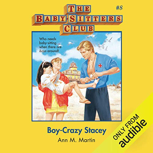 Boy-Crazy Stacey audiobook cover art