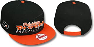 New Era Philadelphia Flyers Black/Orange Snapback Adjustable Hat/Cap