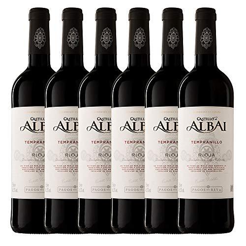 Castillo De Albai Tinto D.O.C. Rioja - Paquete de 6 x 750 ml - Total: 4500 ml