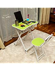 YATAI Children's Table and Chair Set - Study Table with Chair - Kid's Furniture for Playroom Nursery Reading Eating Table – Child Table and Chair – Folding Chair Kids Picnic Table For Outdoor