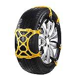 Anself Universal Emergency Car Wheel Tire Snow Chain TPU Anti Skid Strap Vehicle Off-Road Safe Tire Wheel Chain
