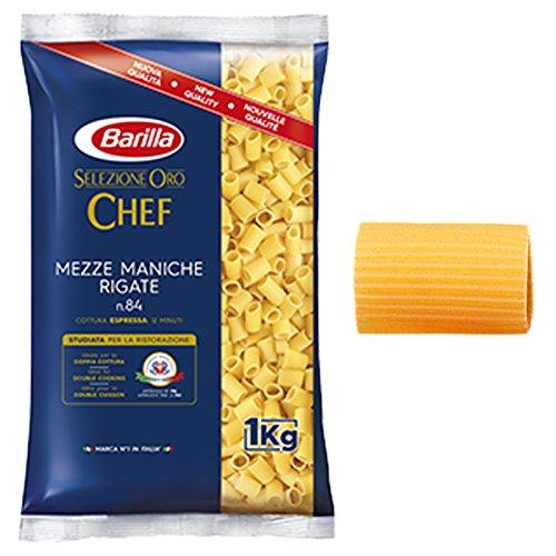 PASTA BARILLA SELEZIONE ORO CHEF MEZZE MANICHE RIGATE 1 KG FOOD SERVICE RISTORANTE