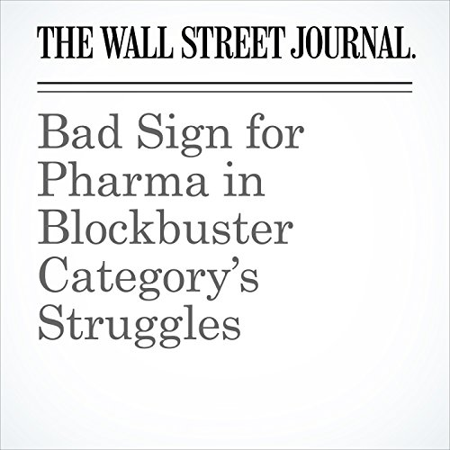 Bad Sign for Pharma in Blockbuster Category's Struggles copertina