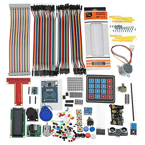 SNOWINSPRING LCD1602 Breadboard Cable RFID Starter Learning Kit for Raspberry Pi for for
