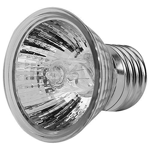 Fydun Heating Ligh, Heating Light Bulb Aquarium Lamp 75W for Pet Turtle Aquarium Aquatic Reptile Lizard Habitat Heat Lighting