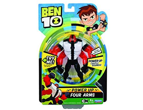 Giochi Preziosi Ben 10 Personaggio con Luci e Suoni, 18 cm, DuexDue, BEN01400