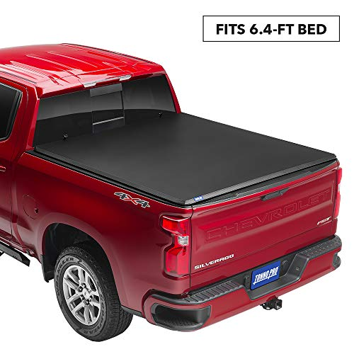 "Tonno Pro Tonno Fold, Soft Folding Truck Bed Tonneau Cover | 42-200 | Fits 2009-2018, 19/20 Classic Ram 1500 6'4"" Bed"